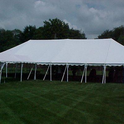 20u2032 x 40u2032 Elite White Pole Tent & Pole Tents Archives - Party Time Rental