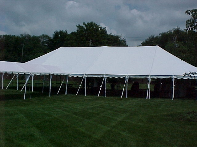 40u2032 x 80u2032 Clear Pole Tent & 40u0027 x 80u0027 Clear Pole Tent - Party Time Rental
