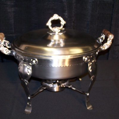 6 qt round ornate chafer 4134